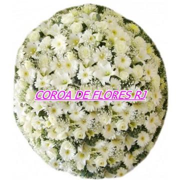 04 - COROA COM TONS BRANCO TAMANHO  ( 1,40 X 1,00 )